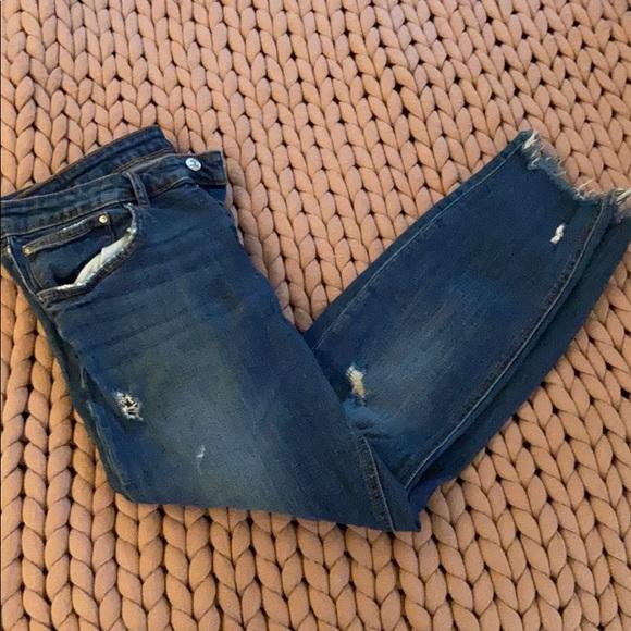 ZARA skinny stretchy jeans size 12